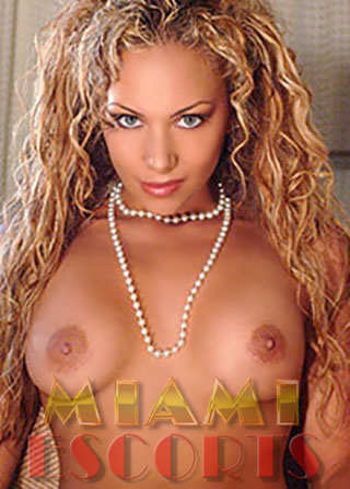 Escorts in Miami love to show off their busty figures.